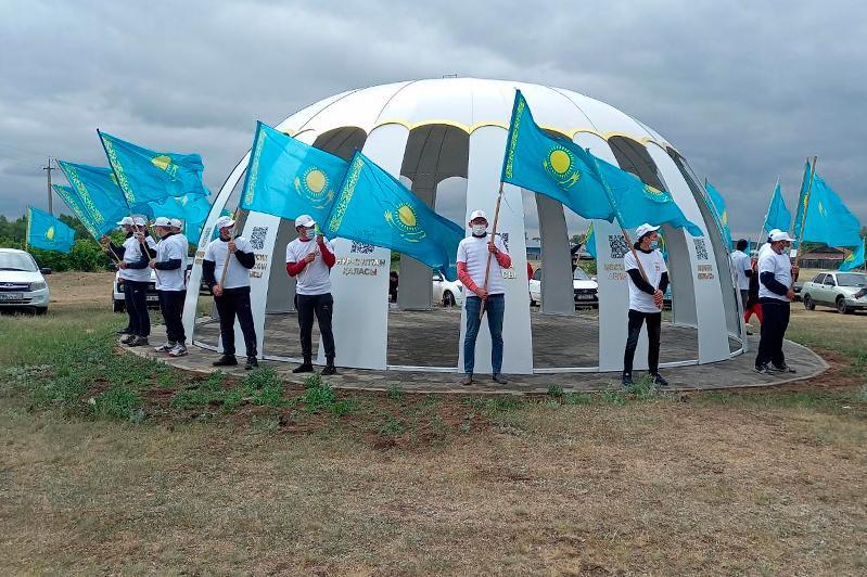Как отмечает День государственных символов Акмолинская область