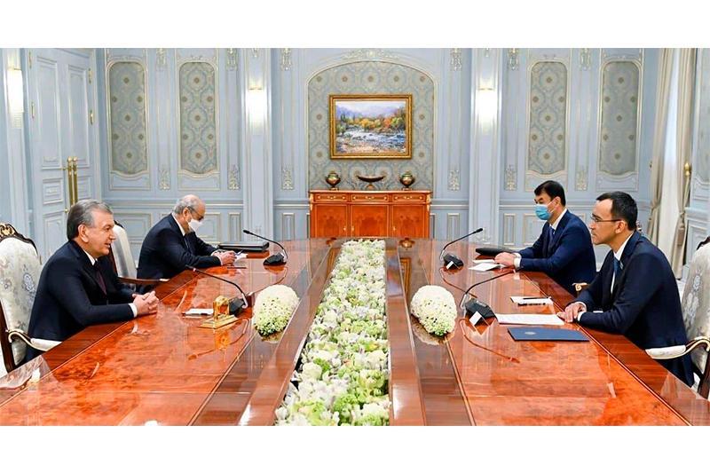 ҚР Парламенти Сенати Раиси Ўзбекистон Президенти билан учрашди