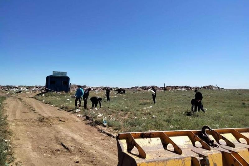 Қарағанды облысында волонтерлер 32 мың тоннадан астам қоқыс жинады