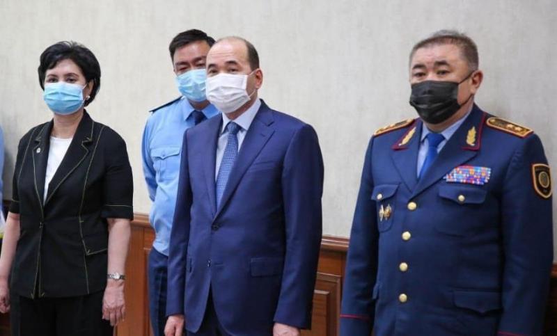 Бас прокурор мен Ішкі істер министрі Қызылорда облысында кеңес өткізді
