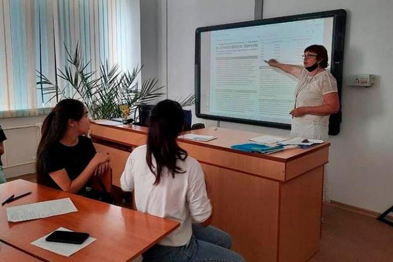 Павлодарские школьники обсудили вопросы экологии