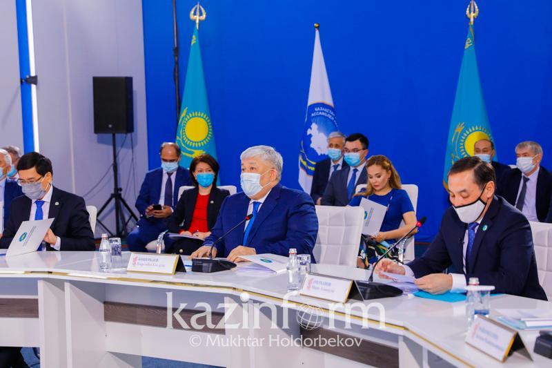 Крымбек Кушербаев: Необходимо продолжить институциональное и инфраструктурное укрепление АНК
