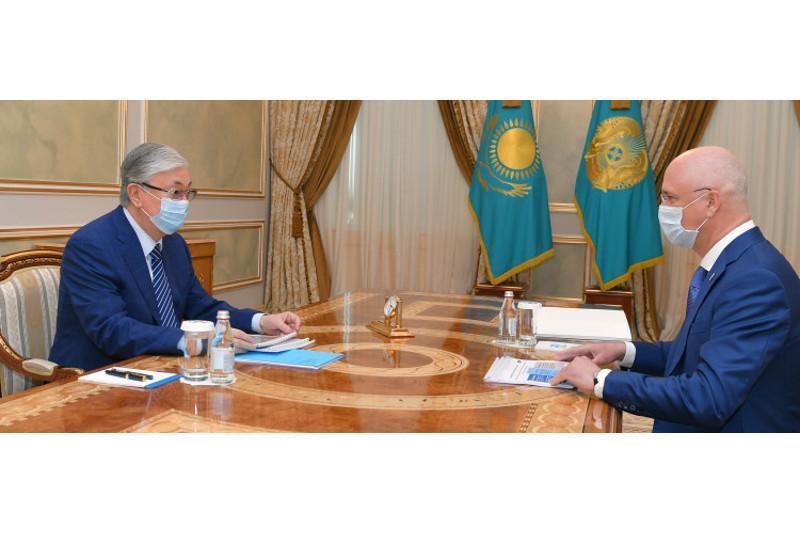 Kazakh President receives Deputy PM
