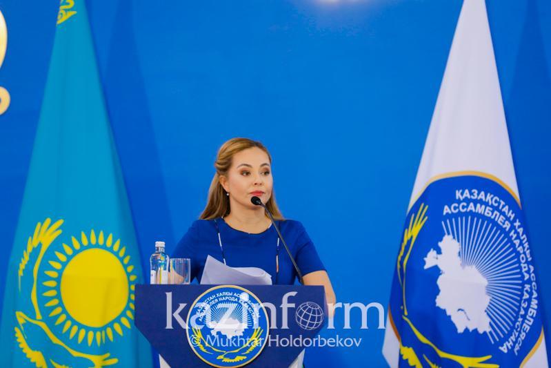 Майя Бекбаева стала официальным представителем АНК