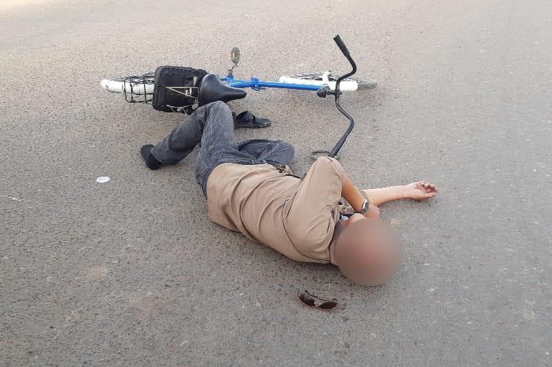 Оралда ер адам велосипедтен құлап, көз жұмды