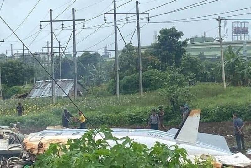 缅甸一架军用飞机失事 已致12人死亡