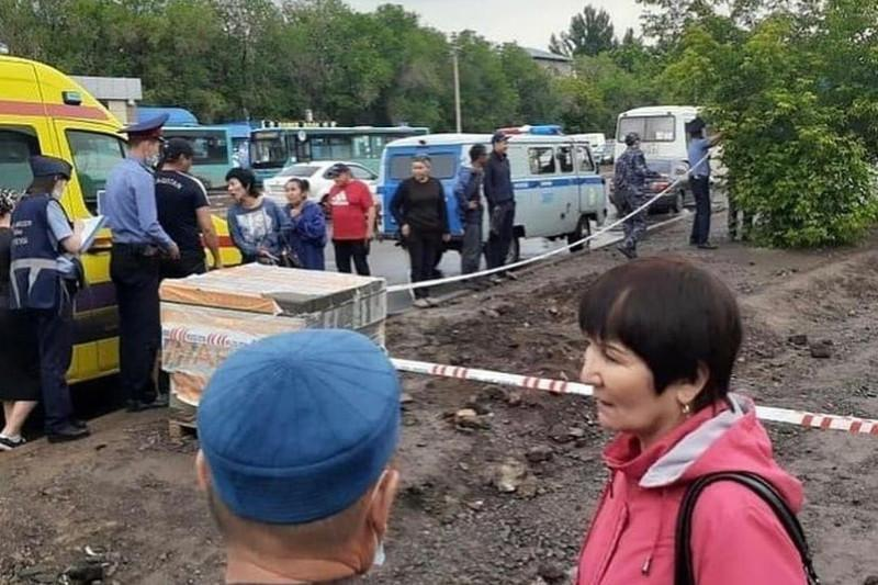Қарағанды базарында төрт күнде 2 адам мерт болды: Мән-жай анықталуда