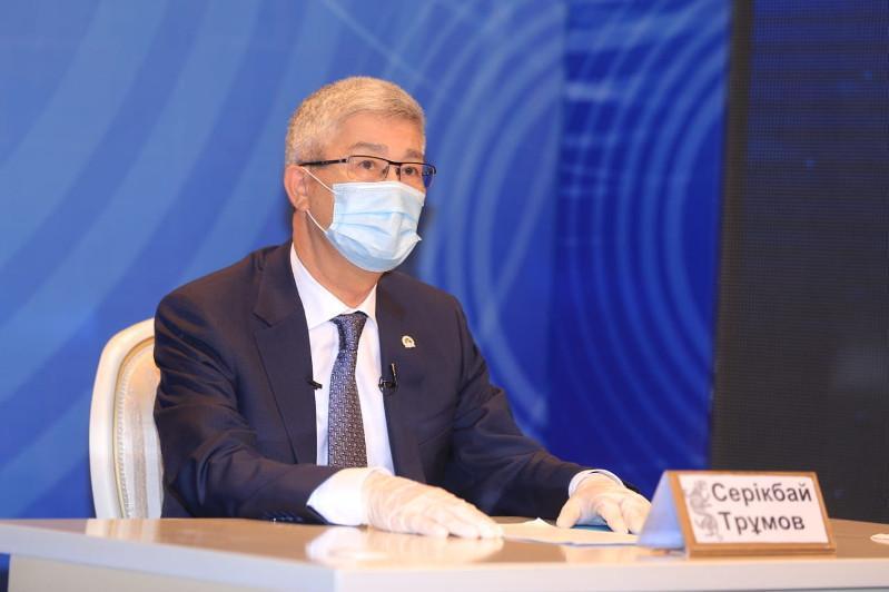 Серікбай Трұмов: Маңғыстауда мал азығы қорын молайту үшін 200 млн теңге бөлінді