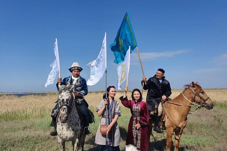 Конная экспедиция стартовала в Акмолинской области
