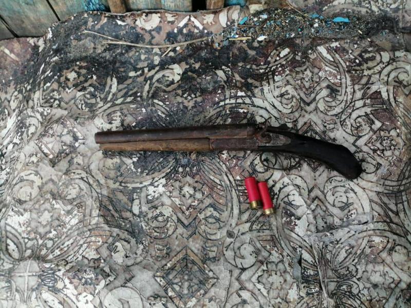 Охотничье ружье в обрез переделал житель Акмолинской области