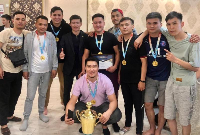 В республиканском турнире по мини-футболу среди молодых работников культуры победили жезказганцы