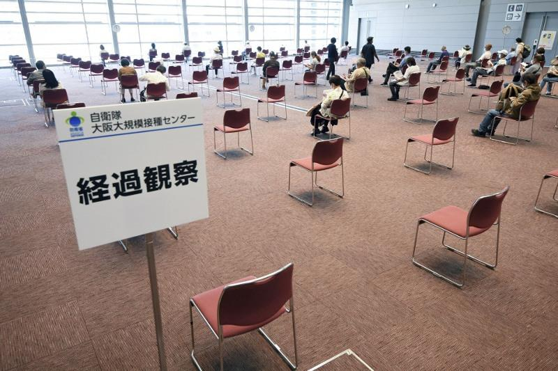 Japan OKs nationwide bookings for mass vaccinations in Tokyo, Osaka