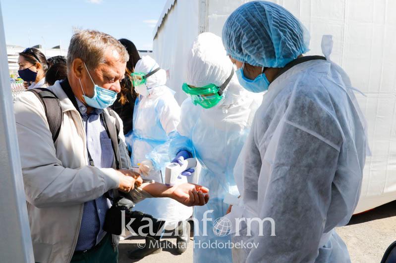 ШҚО шекарасына қойылған санитарлық бекеттер алынды