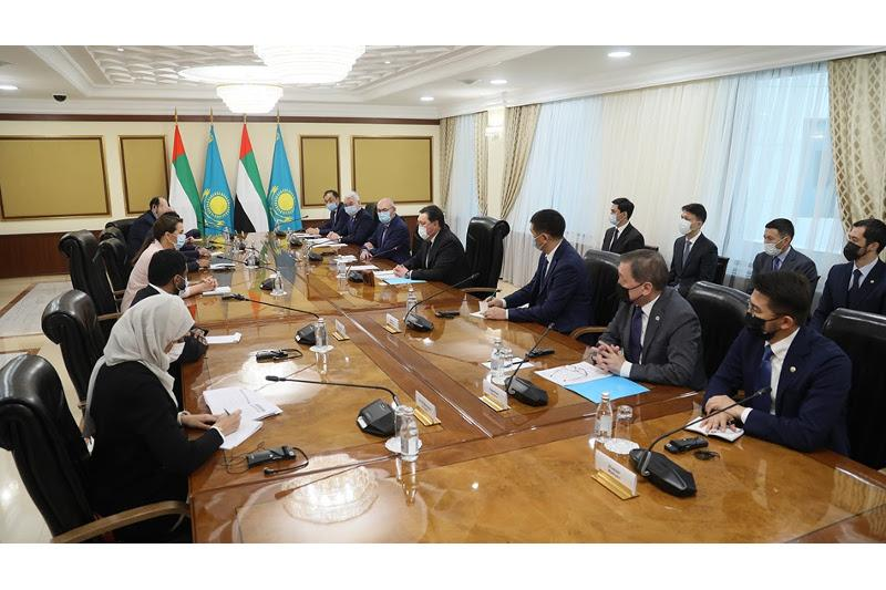 Kazakh PM, UAE Food Security Minister debate joint investment projects realization