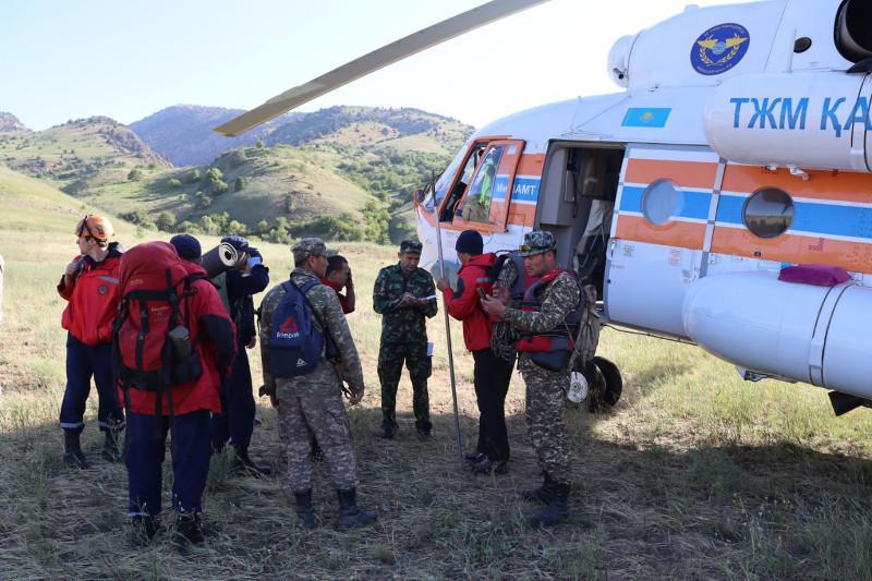 Поиски пропавших в горах Туркестанской области продолжаются - РОСО