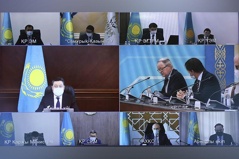 Аскар Мамин и послы ЕС обсудили сотрудничество в развитии «зеленой экономики»