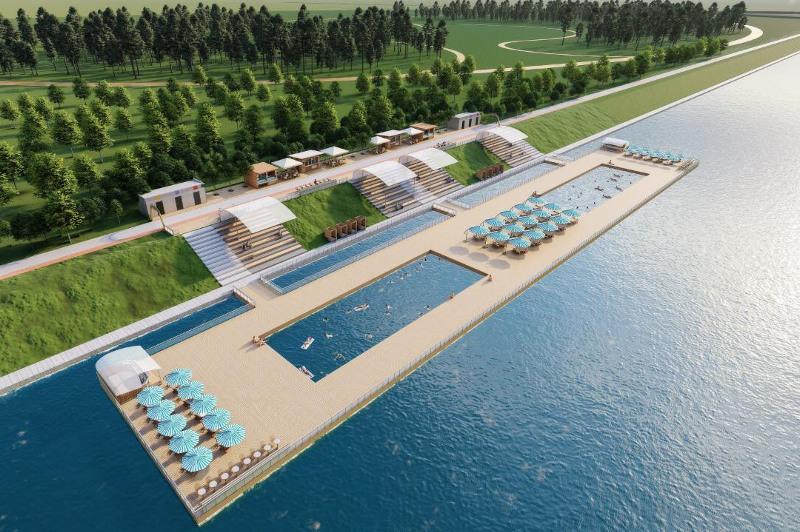 Новый пляж появится в Нур-Султане