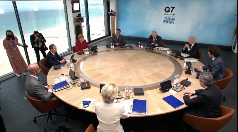 Участники саммита G7 обсудили проблемы восстановления экономики после пандемии