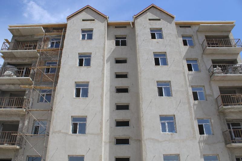 Түркістан облысының Төлеби ауданында көпқабатты 9 үй бой көтерді