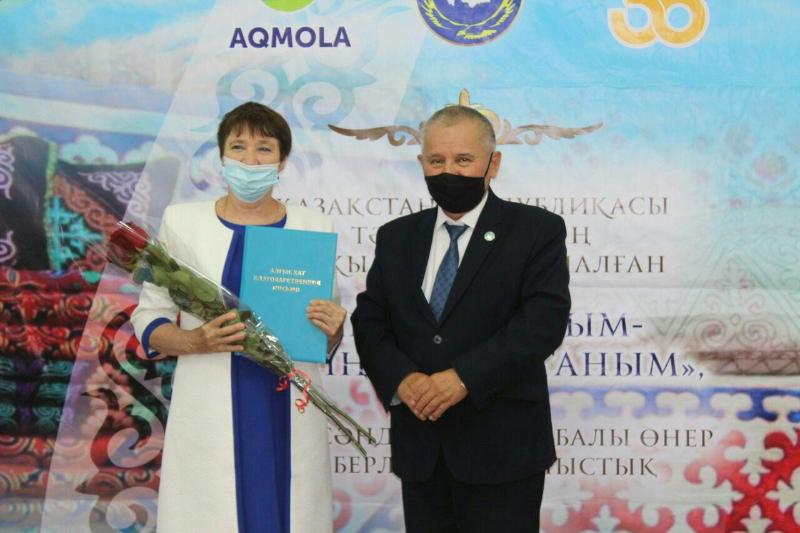 В Акмолинской области прошел конкурс мастеровискусства, посвященный юбилею независимости