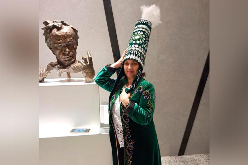 Карагандинка стала участницей международной ретроспективной выставки Евразийского союза дизайнеров