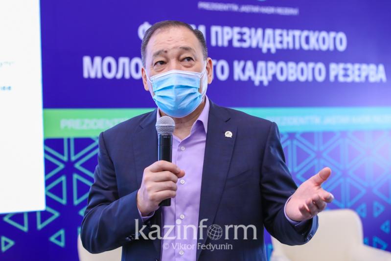 Ералы Тоғжанов Президенттік кадрлық резерв мүшелеріне ақыл-кеңесін айтты