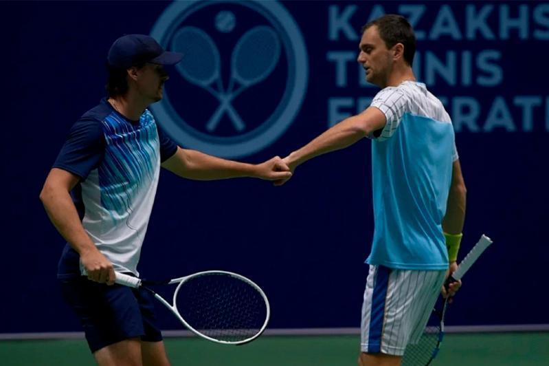 Kazakh-Ukrainian tandem propels into ATP Challenger final in Slovakia