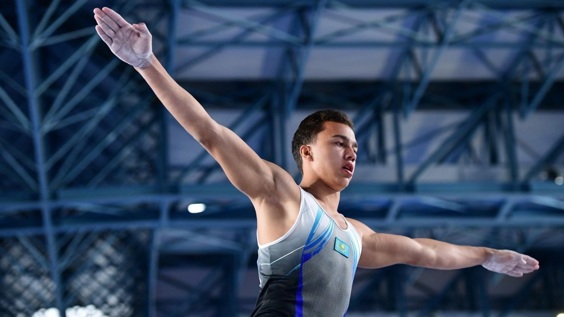 Милад Карими спорттық гимнастикадан әлем кубогінде «алтын» алды