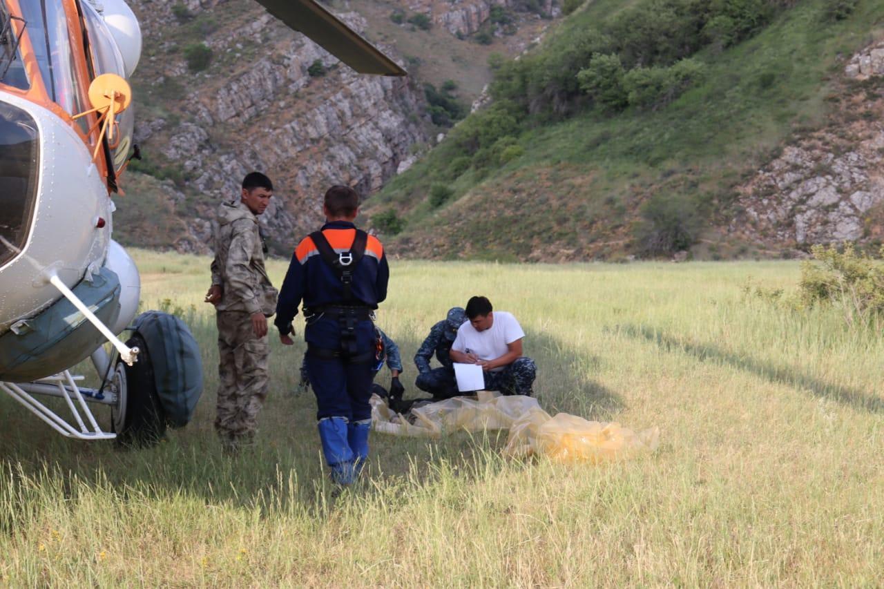 Түркістан облысында жоғалған туристер: Тағы бір адамның мәйіті табылды