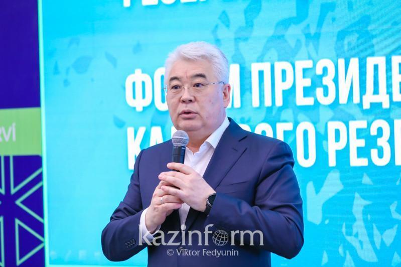 Бейбут Атамкулов дал советы членам Президентского молодежного кадрового резерва