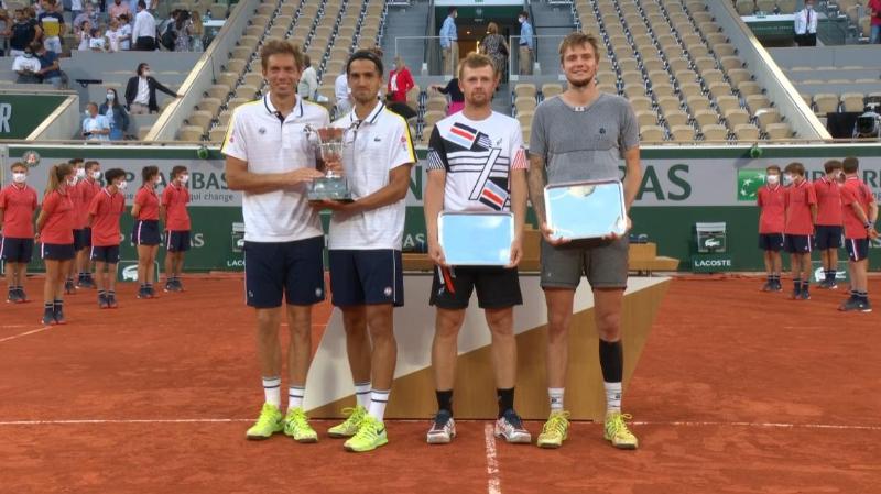 Казахстанские теннисисты проиграли исторический финал «Ролан Гаррос»
