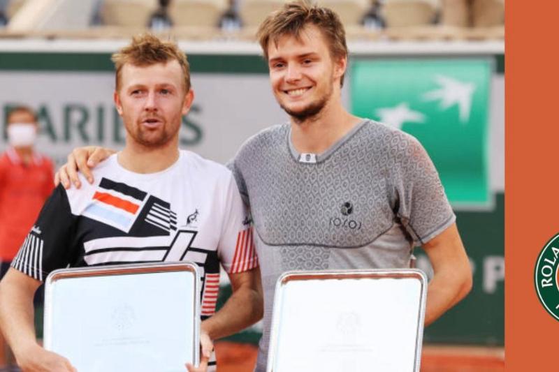 Kazakhstan's Bublik and Golubev lose in historical Roland Garros doubles final