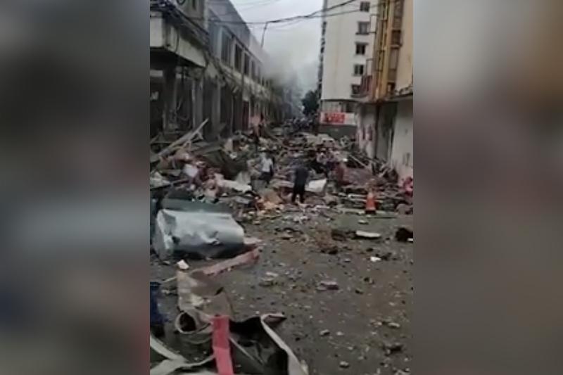 Қытайдағы жойқын жарылыс: 11 адам мерт болып, 133-і адам зардап шекті