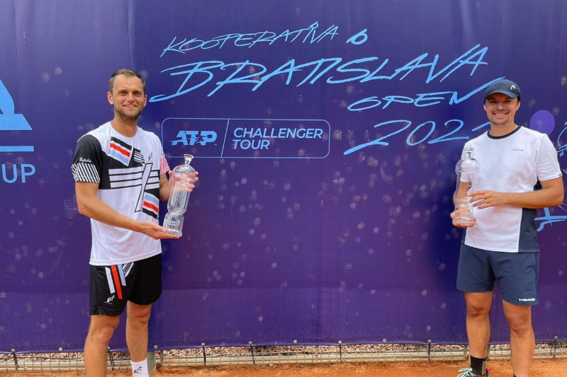 Kazakh-Ukrainian duo clinches ATP Challenger doubles title in Slovakia