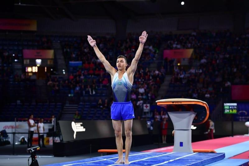Kazakhstan's Milad Karimi claims third medal at 2021 Artistic Gymnastics FIG World Challenge Cup