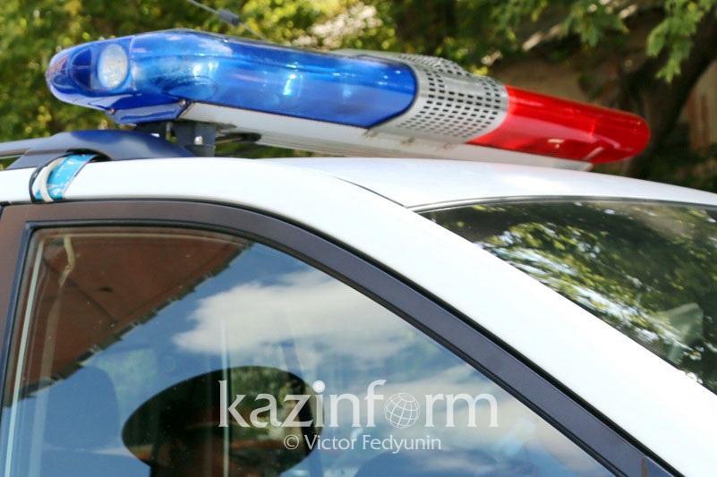 Алматыда полиция қызметкері жаяу жүргіншіні қағып, мерт қылды