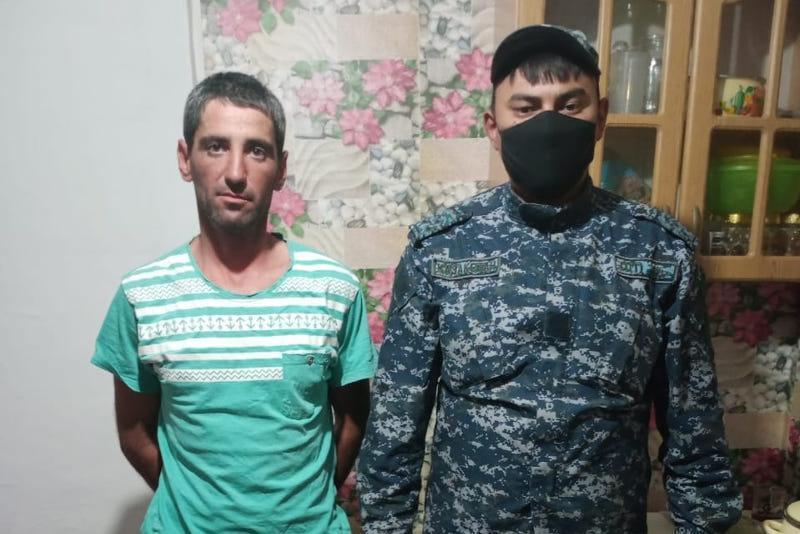 Заблудившегося в степи сельчанина отыскали костанайские полицейские
