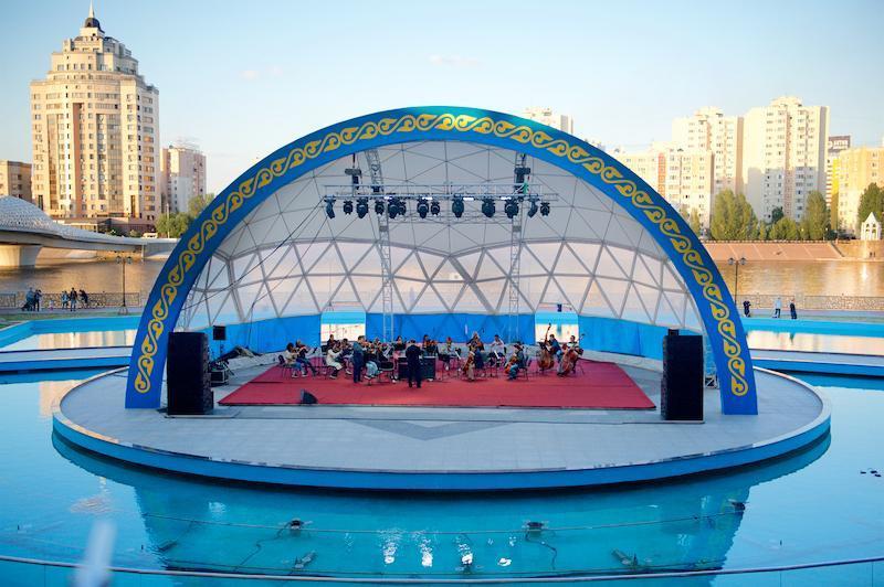 «Астана Опера» даст бесплатные концерты на открытом воздухе в Нур-Султане