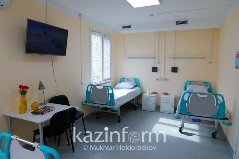 341 staying at COVID-19 hospitals in Atyrau region