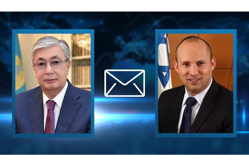 Касым-Жомарт Токаев поздравил избранного Премьер-министра Израиля Нафтали Беннета