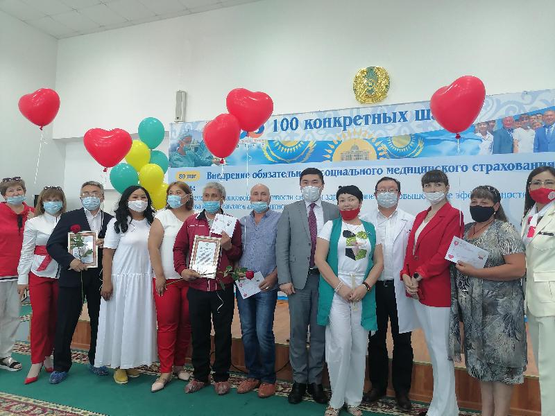 Всемирный день донора отметили в Акмолинской области