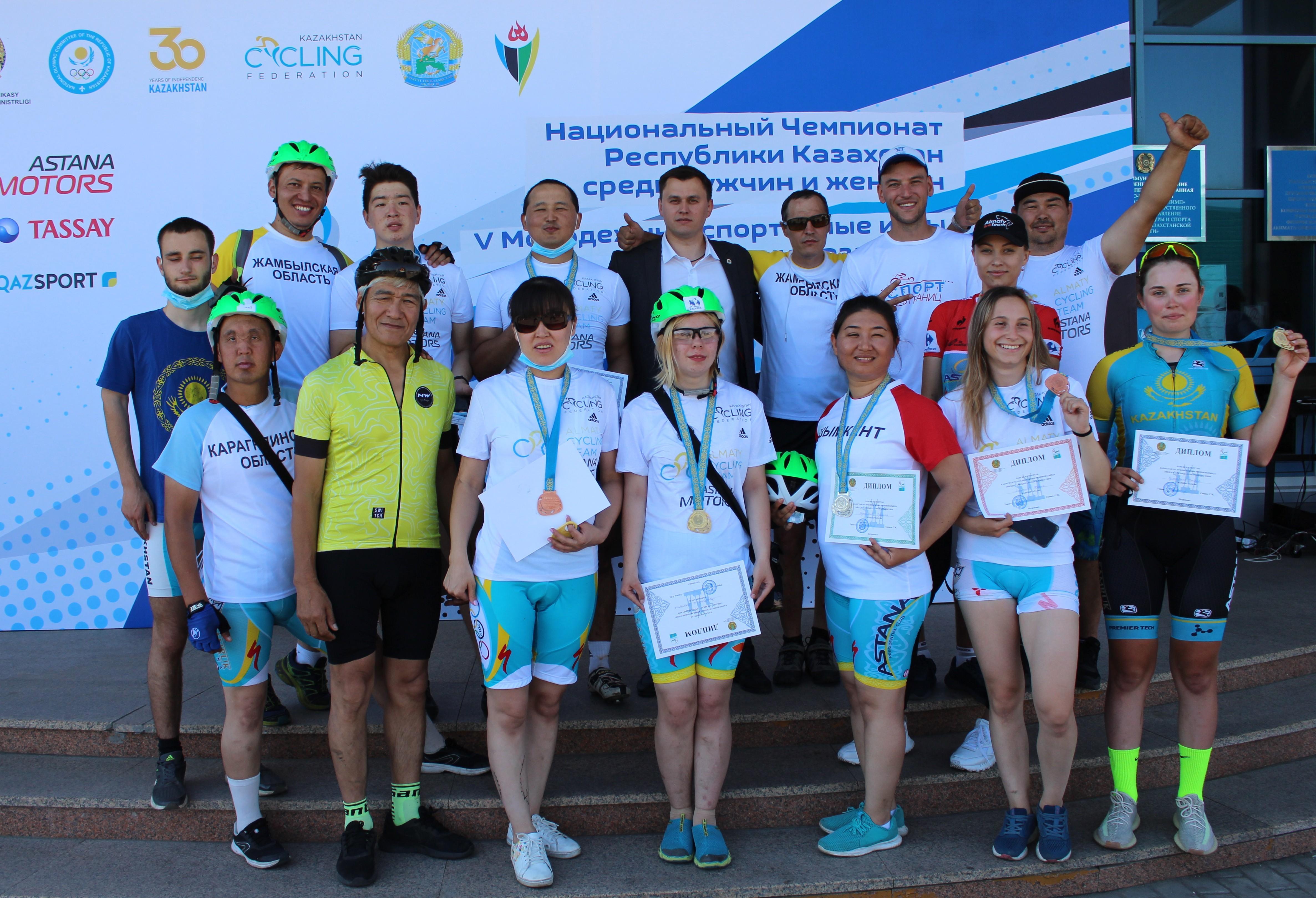 Петропавлда велоспорттан республикалық жарыстар өтіп жатыр
