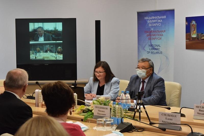 Презентация литературно-художественного альманаха «Казахстан-Беларусь» состоялась в Минске