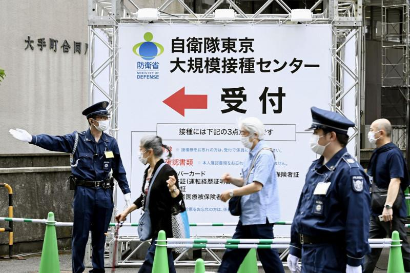 Japan eyes vaccinating people under 65 at state centers from Thursday