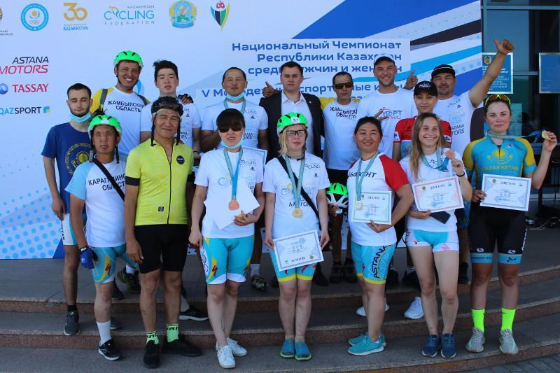 Первый Национальный чемпионат по велоспорту среди паралимпийцев проходит в СКО