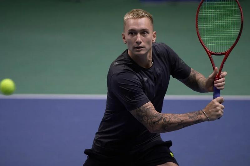 Теннис: Денис Евсеев Алматы турнирінің екінші айналымына шықты