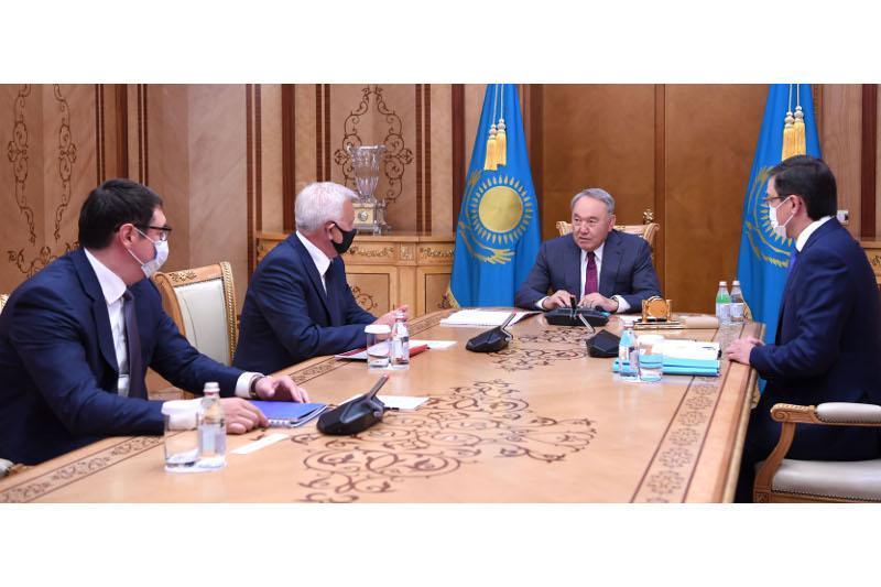 Elbasy receives Samruk Kazyna CEO and Lukoil President