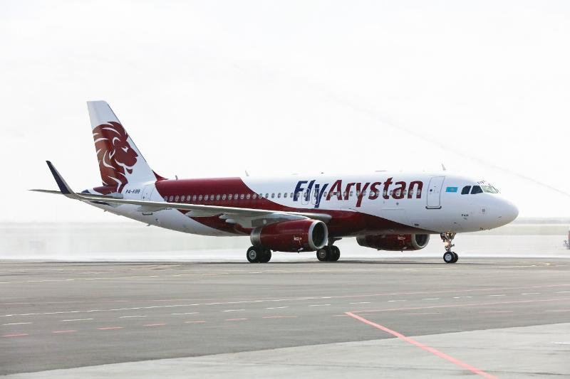 Kazakh Airline 'FlyArystan' launches its first flight to Sharjah