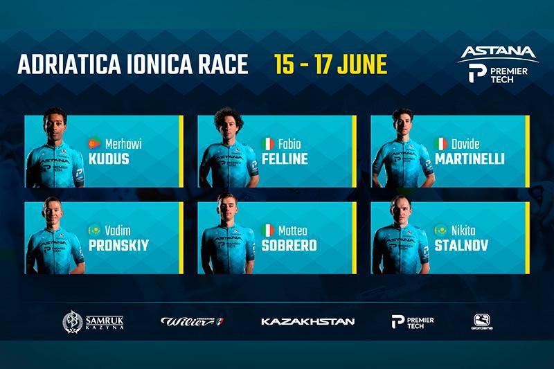 Astana – Premier Tech for Adriatica Ionica Race