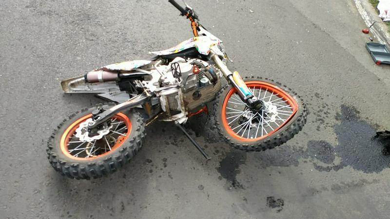 Оралда көлікпен соқтығысқан мотоциклдің 15 жастағы жүргізушісі мерт болды